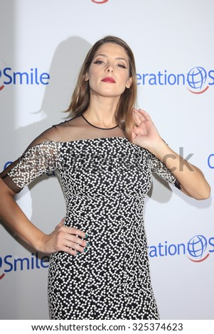 BEVERLY HILLS - OCT 2: Ashley Greene at the Operation Smile's 2015 Smile Gala  on October 2, 2015 at the Beverly Wilshire Four Seasons Hotel in Beverly Hills, CA. - stock photo