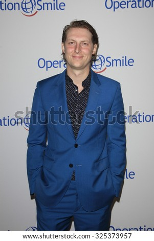 BEVERLY HILLS - OCT 2: Eric Hutchinson at the Operation Smile's 2015 Smile Gala  on October 2, 2015 at the Beverly Wilshire Four Seasons Hotel in Beverly Hills, CA. - stock photo