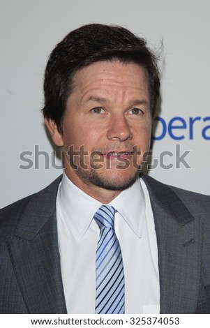 BEVERLY HILLS - OCT 2: Mark Wahlberg at the Operation Smile's 2015 Smile Gala  on October 2, 2015 at the Beverly Wilshire Four Seasons Hotel in Beverly Hills, CA. - stock photo