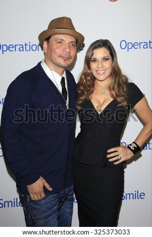 BEVERLY HILLS - OCT 2: Mix Master Mike, Dianne Copeland at the Operation Smile's 2015 Smile Gala  on October 2, 2015 at the Beverly Wilshire Four Seasons Hotel in Beverly Hills, CA. - stock photo