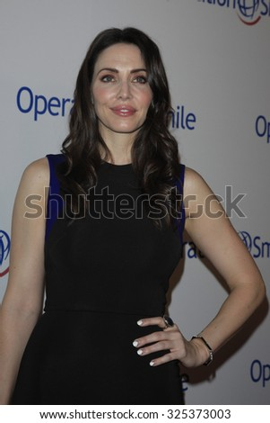 BEVERLY HILLS - OCT 2: Whitney Cummings at the Operation Smile's 2015 Smile Gala  on October 2, 2015 at the Beverly Wilshire Four Seasons Hotel in Beverly Hills, CA. - stock photo