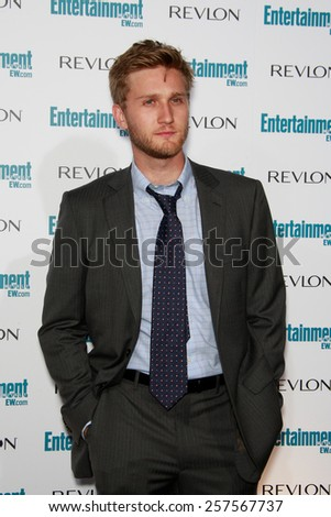 BEVERLY HILLS - SEP 20: Aaron Staton at the 6th Annual Entertainment Weekly Pre-EMMY party  on September 20, 2008 in Beverly Hills, California - stock photo