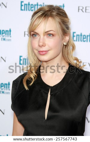 BEVERLY HILLS - SEP 20: Amanda Walsh at the 6th Annual Entertainment Weekly Pre-EMMY party  on September 20, 2008 in Beverly Hills, California - stock photo