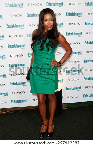BEVERLY HILLS - SEP 20: Golden Brooks at the 6th Annual Entertainment Weekly Pre-EMMY party  on September 20, 2008 in Beverly Hills, California - stock photo