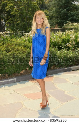BEVERLY HILLS - SEP 20: Nicole Richie at a luncheon to honor the release of Pleasures by Gwyneth Paltrow, held at the Graystone Estate in Beverly Hills, California on September 20, 2006 - stock photo