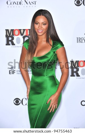 Beyonce Knowles at Movies Rock: A Celebration of Music in Film at the Kodak Theatre, Hollywood. December 2, 2007  Los Angeles, CA Picture: Paul Smith / Featureflash - stock photo