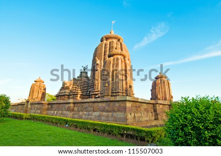 Bhrameswar Temple, Bhubaneswar, Orissa, India - stock photo