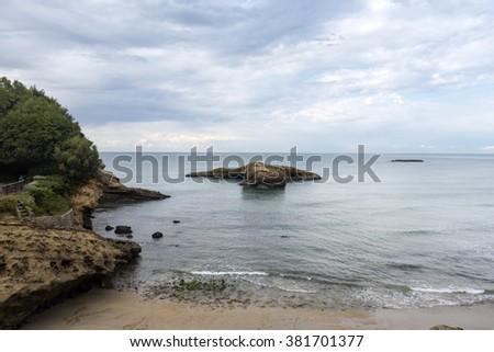 Biarritz, France - stock photo