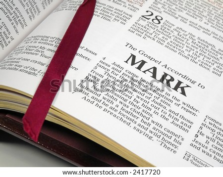 Bible Passages - stock photo