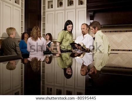Bible Study Groups - stock photo