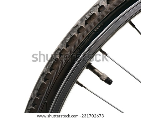 Bicycle Tire - stock photo