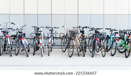 Bicycles - stock photo