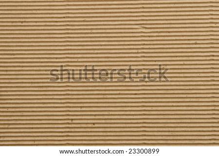 Biege textured cardboard background - stock photo