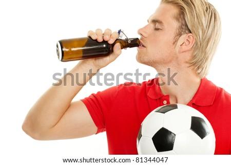 bier trinken - stock photo