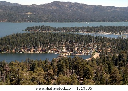Big Bear California - stock photo