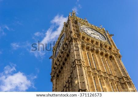 Big Ben, London, Great Britain - stock photo