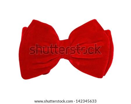 Big bow tie - stock photo