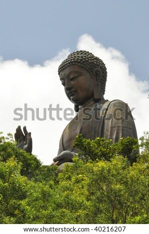 Big Buddha Statue - stock photo