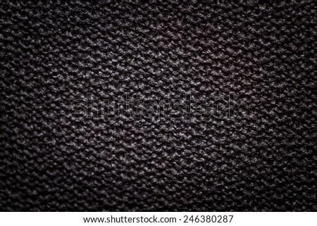 Big Carbon Fiber Background / black background - stock photo
