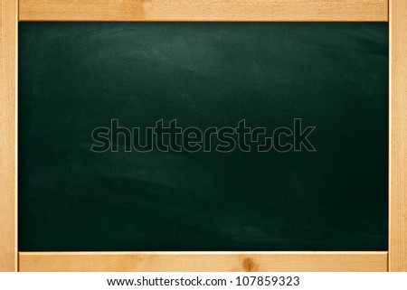 Big Chalkboard Background - stock photo