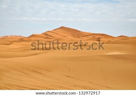 Big dune - stock photo
