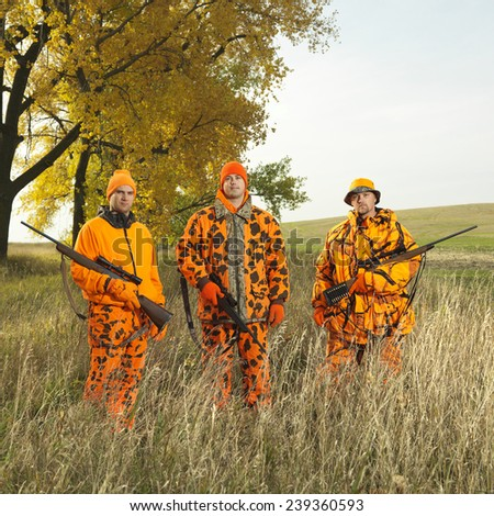 Big Game Hunters - stock photo