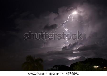 Big Lightning - stock photo