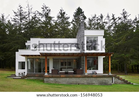 Brick House Modern Stock Photos Images Pictures
