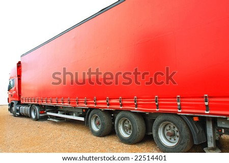 Big red - stock photo