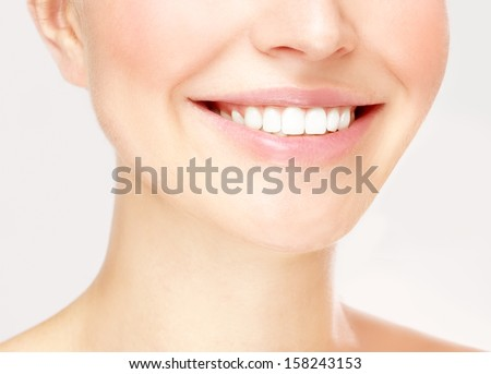 Big smile - stock photo