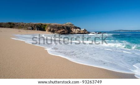 Big Sur Beach, California, USA - stock photo