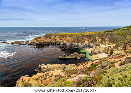 Big Sur, California, USA - stock photo