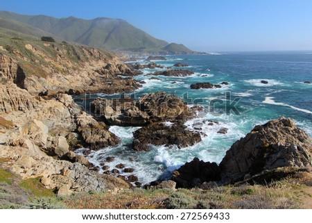 Big Sur California, USA - stock photo
