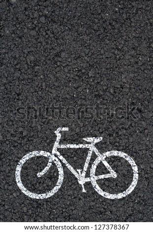 Bike background - stock photo