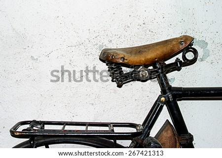 bike details - stock photo
