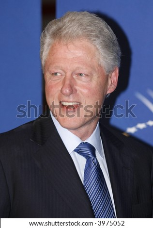 Bill Clinton - stock photo