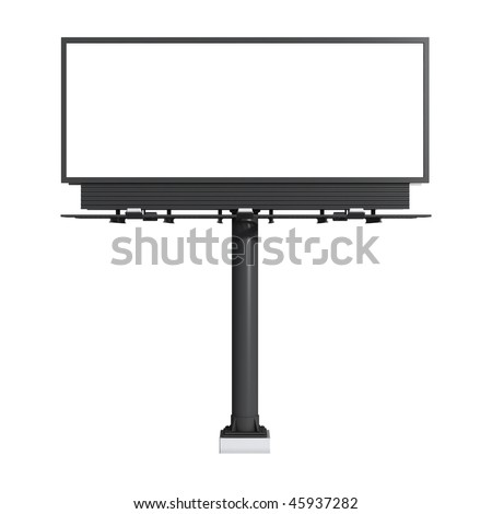 Billboard - stock photo