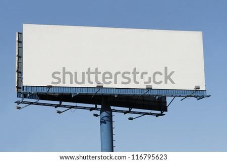 Billboard - Ad here! - stock photo
