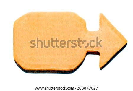 billboard yellow brown  --  illustration - stock photo