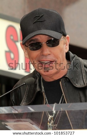 Billy Bob Thornton at the John Cusack Star On The Hollywood Walk Of Fame, Hollywood, CA 04-24-12 - stock photo