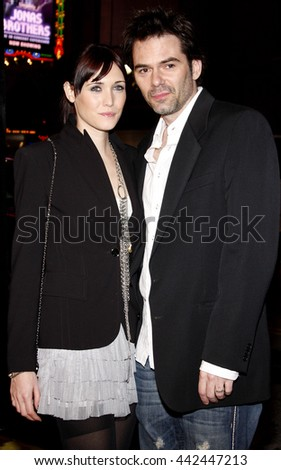 Billy Burke at the Los Angeles premiere of 'Watchmen' held at the Grauman's Chinese Theater in Hollywood, USA on March 3, 2009. - stock photo
