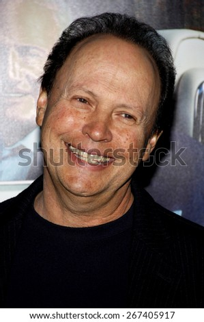 Billy Crystal at the HBO's 'His Way' Los Angeles Premiere held at the Paramount Studios lot in Hollywood on March 22, 2011.  - stock photo