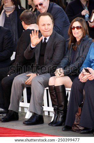 Billy Crystal at the Robert De Niro Hand and Footprint Ceremony held the TCL Chinese Theatre in Hollywood on April 2, 2013.  - stock photo