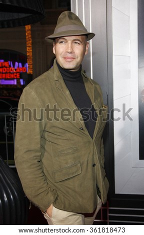 "Billy Zane at the Los Angeles premiere of ""Gangster Squad"" held at the Grauman's Chinese Theatre in Los Angeles, USA on January 7, 2013. - stock photo"