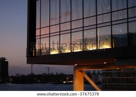 Bimhuis, Amsterdam - stock photo