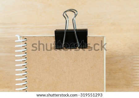 Binder clips - stock photo