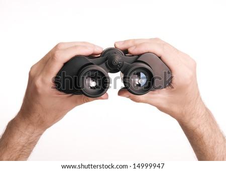binocular - stock photo