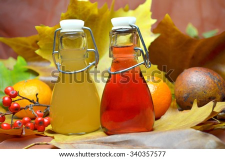 bio juice home made - stock photo