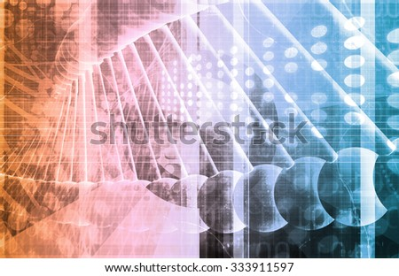Biotechnology or Biotech Science as a Science Field - stock photo