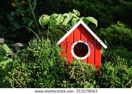 Bird House - stock photo